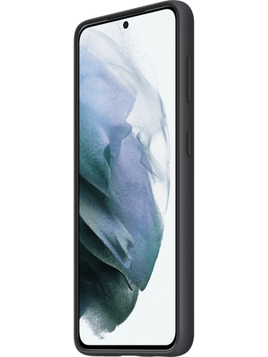 Samsung EF-PG991 Silicone Cover Galaxy S21 (schwarz)