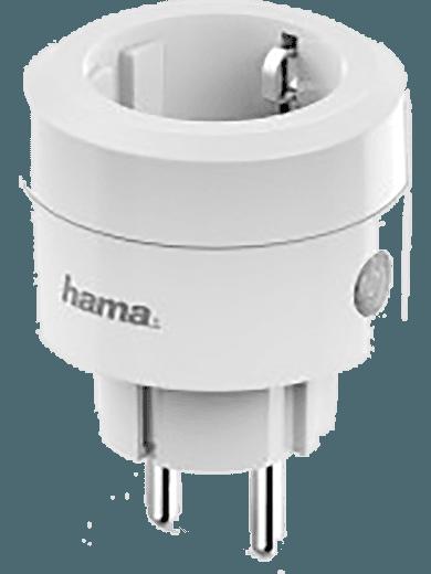 Hama WiFi-Steckdose - klein Ø 5,8cm, 2.300W, 10A (weiß)
