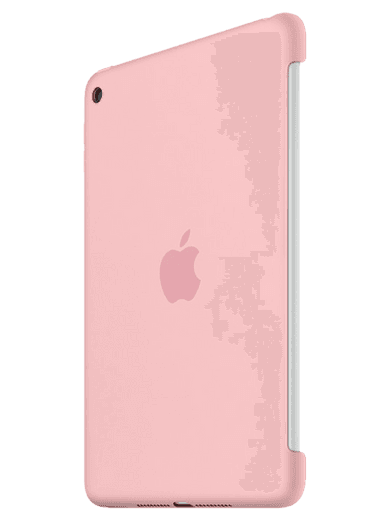 Apple iPad mini 4 Silikon Case pink