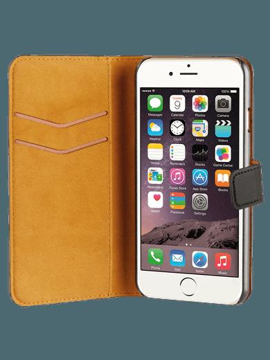 freenet Basics Premium Wallet für iPhone 6/6s/7/8 schwarz